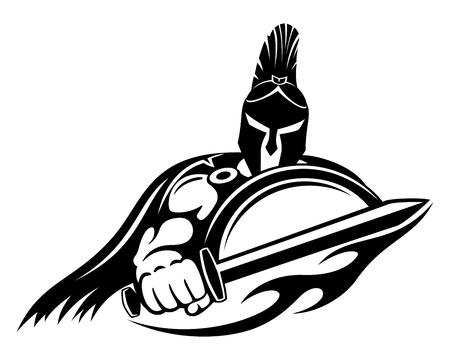 Spartan sign.