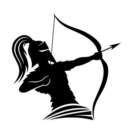Warrior archer.