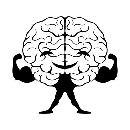 강한 두뇌.