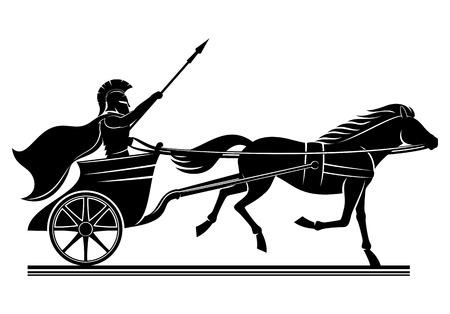 War chariot sign.