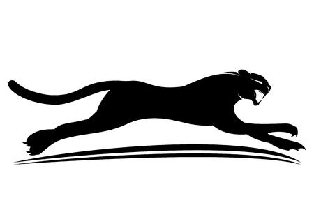 Black panther sign.