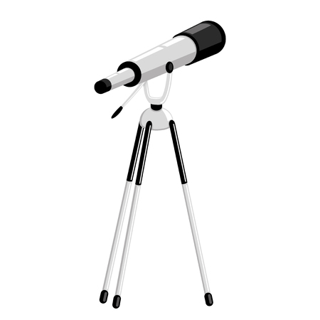 Telescope on a tripod.