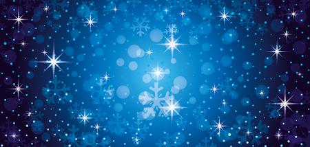Blue christmas background. Illustration