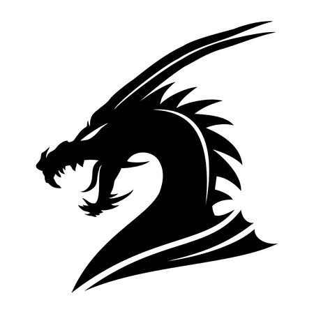 Sign of a black dragon.