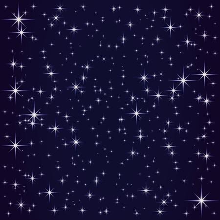 Cosmos and shining stars.