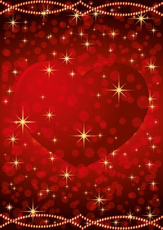 Red heart for Valentine's Day. Archivio Fotografico - 116678449