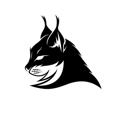 Lynx black sign.