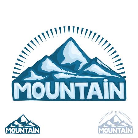 High mountain sign.