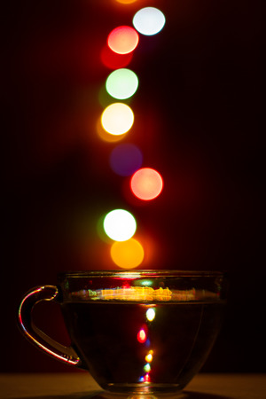 allegory: Allegory of different christmas drinks Stock Photo