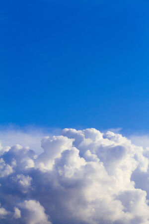 convection: A big rain cloud is going to became a storm cloud.