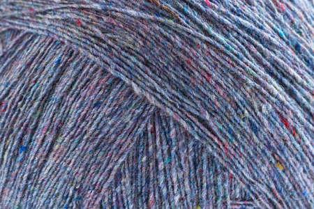 craft background: Old coloured woolen thread, craft background.