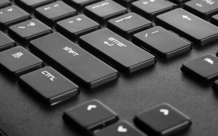 membrane: membrane keyboard focus on the enter button