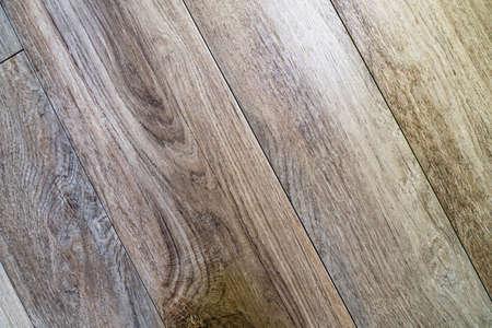 Wooden Parquet Old Natural Pattern. Wood Floor Texture 写真素材