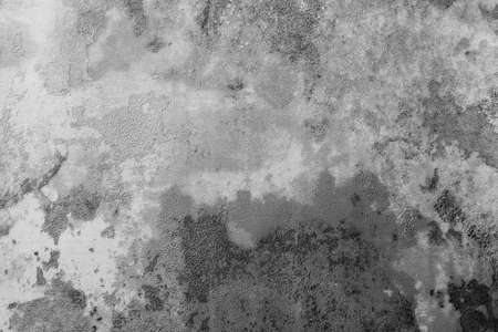Grunge Background Black and White. Monochrome Texture. Abstract Vintage Surface