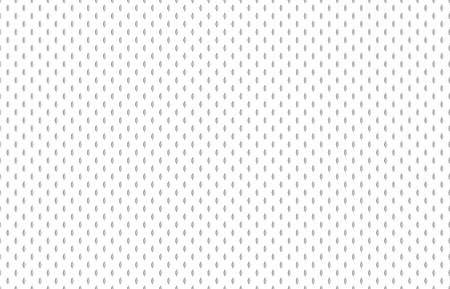 Athletische Stoffbeschaffenheit. Fußballhemdstoff, strukturierte Sportstoffe oder Sporttextilien, nahtlose athletische Materialstruktur aus Nylonjersey. Polyester Hockey Check Netting Vektormuster