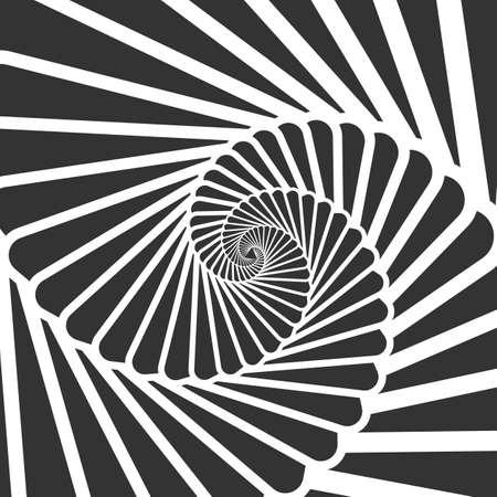 Swirl hypnotize spirals. Stair whirl hypnotism, spiral hypnotic, hypnosis swirl circular, illustration circle action vector Иллюстрация
