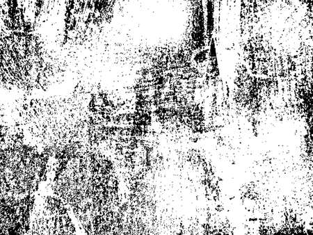 grunge texture. distress dirty dark sketches rusty grungy abstract textured effect, graphic scratches wallpaper template, aged damaged material messy stains wall vintage rough border vector background Çizim