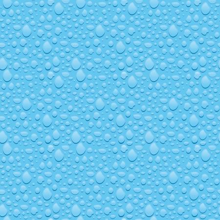 Naadloze textuur van condens op het glas