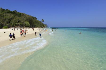 Beautiful Andaman Sea in Asia