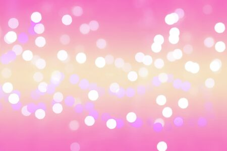 light pink: colorful Bokeh Background two tone
