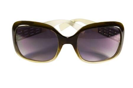 Plastic sunglasses isolated on white background Stock Photo - 17974852