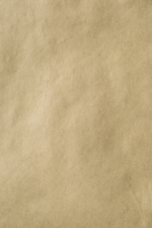 Old smooth brown kraft paper background photo