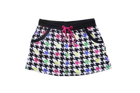 mini falda: Mini falda deportivo aislado sobre blanco