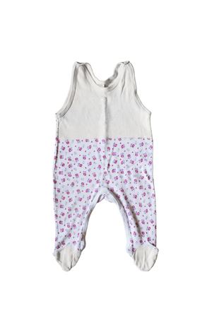 baby romper: Baby romper suit on white background