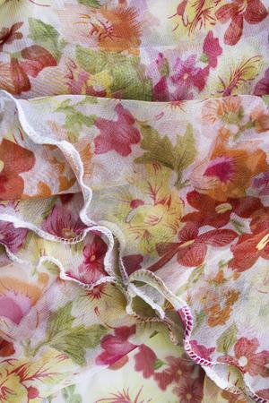 draped: Draped ornamental chiffon as a background