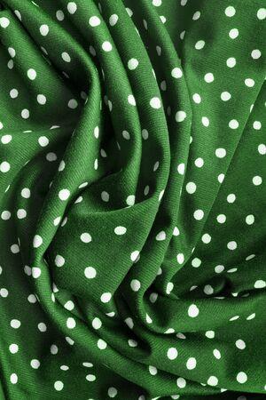 tela seda: Tela de seda verde envuelto como un fondo