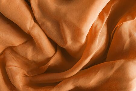 draped: Golden draped silk as a background