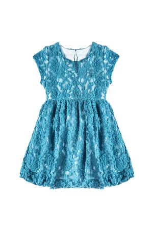 babygirl: Lacy beautiful babygirl dress on white background