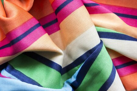 draped cloth: Colorful viscose cloth draped as a background