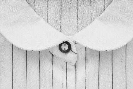 formal dressing: White blouse collar closeup as a background