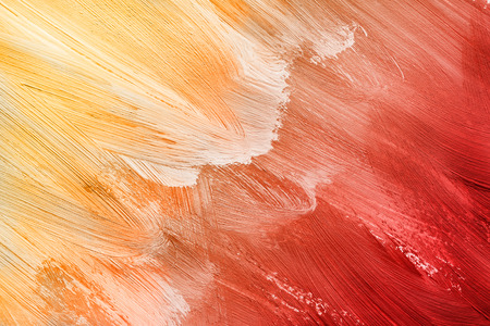 Abstract yellow and red shades drawing as a background