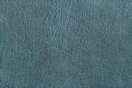 Primer plano de textura de cuero azul como fondo Foto de archivo