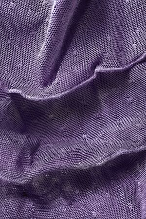 Purple lacy net ruches closeup as a background