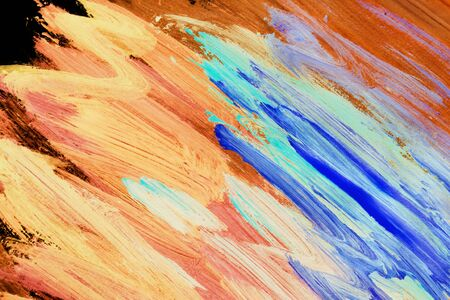 Colorful abstract acrylic painting as a background