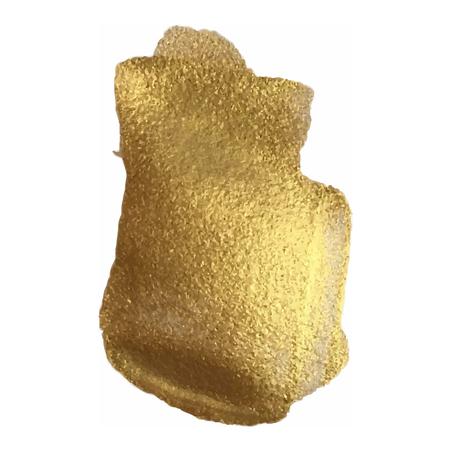 varnish: Golden smear vector brush stroke. Varnish splash line trace. Abstract shape oil paint. Illustration