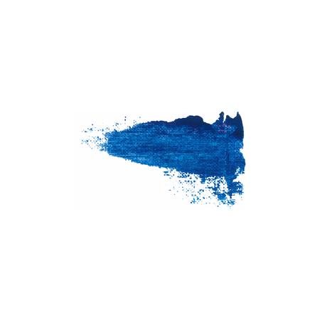 varnish: Blue color paint smear vector brush stroke. Varnish splash line. Abstract shape acrylic oil paint.