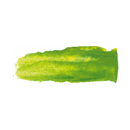 varnish: Yellow and green color paint smear vector brush stroke. Varnish splash line. Abstract shape acrylic oil paint. Illustration