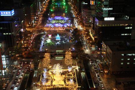 winter park: Sapporo illumination