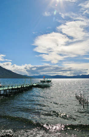 immortality: Summer clouds and Lake shikotsu