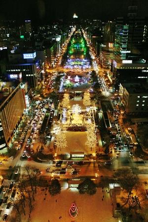 sapporo: Sapporo illumination