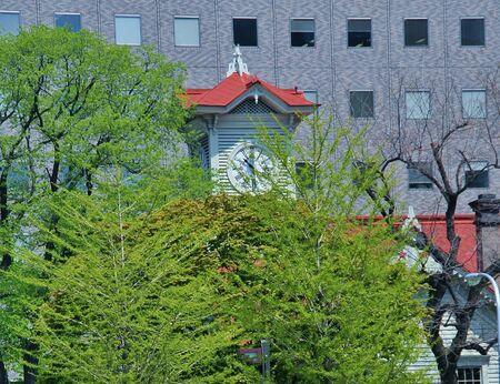 odori: Green clock