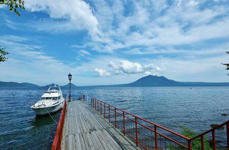 Lake shikotsu hokkaido Imagens