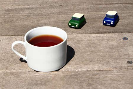 コーヒー ブレーク 写真素材
