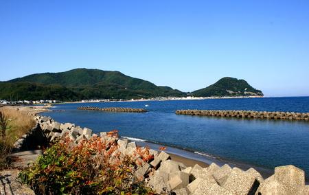 Otaru, in Hokkaido Shakotan coastal landscape