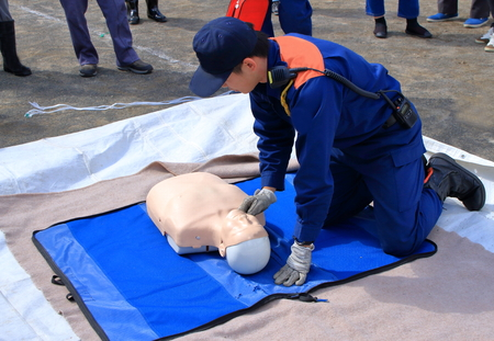 Disaster prevention drill Editorial