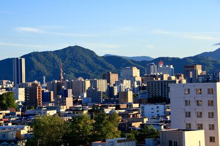 View of Sapporo City, in Hokkaido